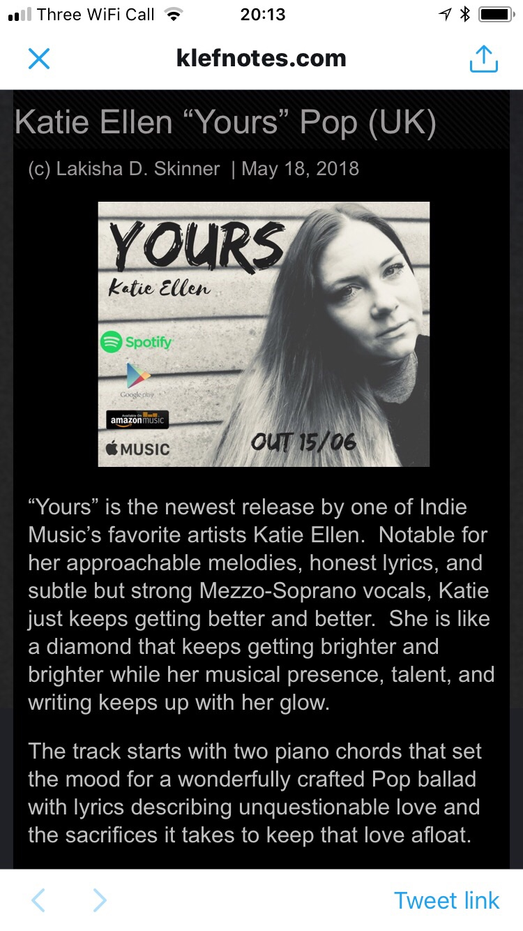 Katie ellen the music musings of katie ellen so thank you to everyone whos heard yours and made time to tell me you love it i think a lot of creatives carry a lot of self doubt and im no thecheapjerseys Gallery